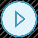 botton, media botton, multimedia, play, play button, player, video icon