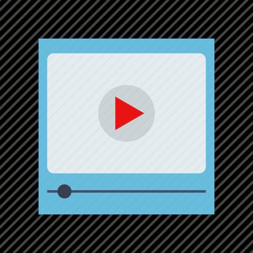 gadget, media, multimedia, player, tool, video icon