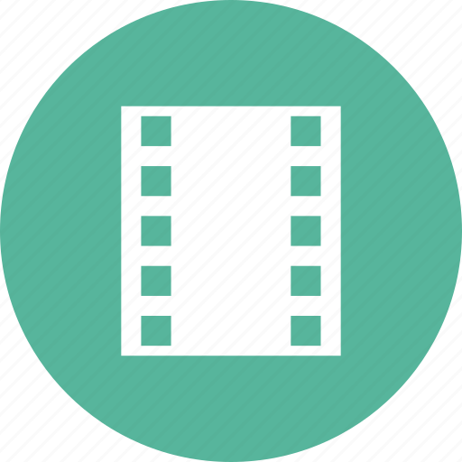 cinema, film, filmstrip, movie, reel, video icon