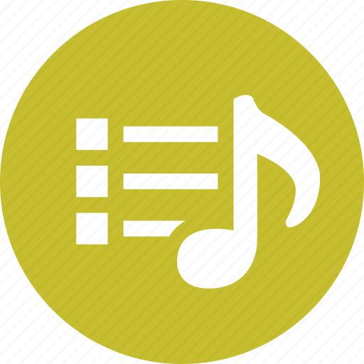 audio, collection, music, playlist, songs icon