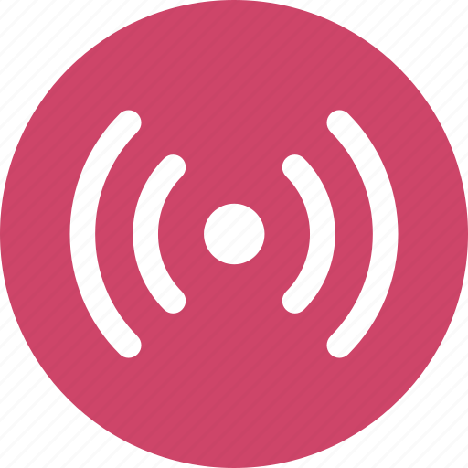 broadcast, communication, connection, network, wireless icon