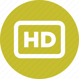 def, hd, hi-def, high, high definition, media icon