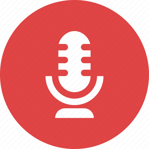 audio, media, microphone, sound, speaker, volume icon