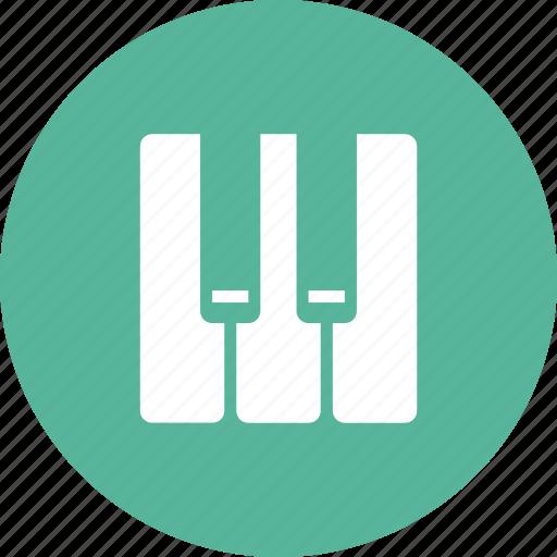 instrument, keyboard, keys, music, piano icon