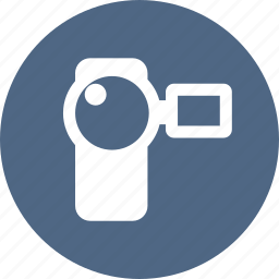 camcorder, camera, film, movie, video icon