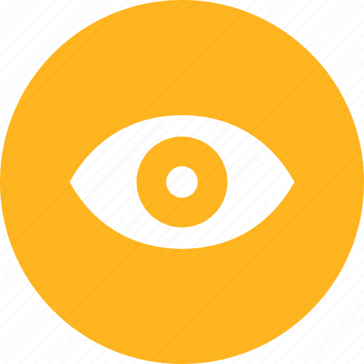 eye, find, look, search, see, view, zoom icon