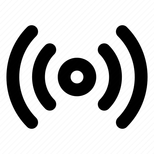 communication, connection, interaction, network, radio, wireless icon