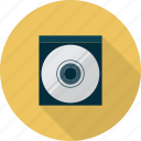 cd, compact, multimedia, record, storage, technology icon