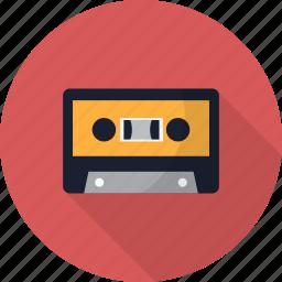audio, cassette, multimedia, music, record, tape icon
