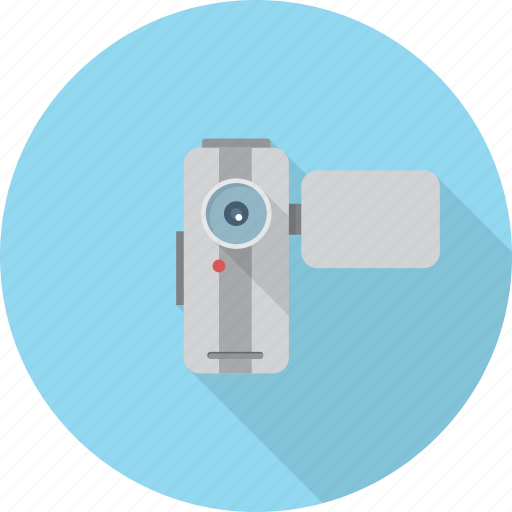 handicam, illustration, image, multimedia, record, stand, video icon