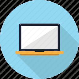 laptop, mobile, multimedia, notebook, portable, screen icon