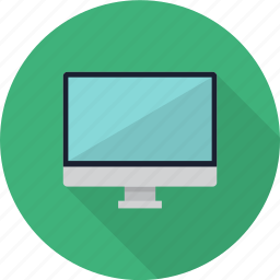 computer, device, display, lcd, monitor, multimedia, screen icon