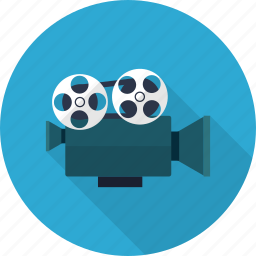 cinema, film, frame, motion, movie, multimedia, projector icon