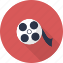 cinema, film, movie, multimedia, reel, video icon