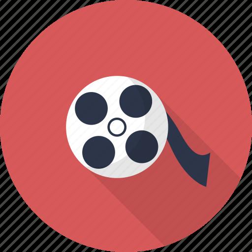 cinema, film, movie, multimedia, reel, video icon