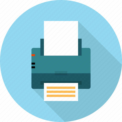 document, machine, multimedia, page, paper, printer, printout icon