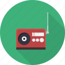 entertainment, media, multimedia, music, radio, sound, speaker icon