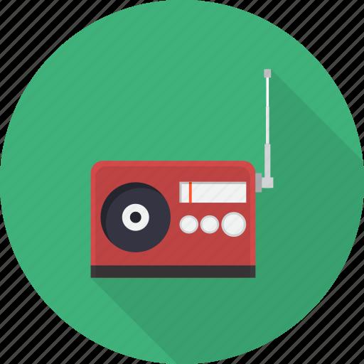 entertainment, media, multimedia, music, radio, sound, speaker icon
