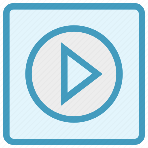 Buttons, media button, multimedia, play, play button, player, video icon - Download on Iconfinder