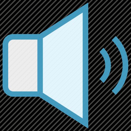 loud, media, multimedia, music, playing, sound, speaker icon