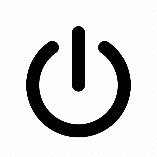 down, log, off, out, power, shut icon