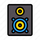 media, sound, audio, speaker, woofer
