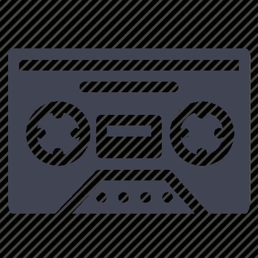 audio, cassette, media, multimedia, music, sound, tape icon