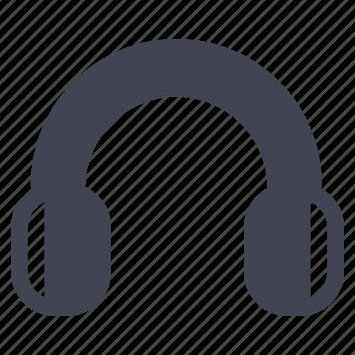audio, headset, media, multimedia, music, sound icon