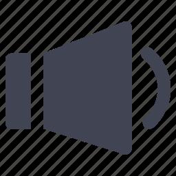 audio, low, media, multimedia, sound, volume icon
