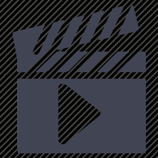 media, movie, movies, multimedia, play, video icon