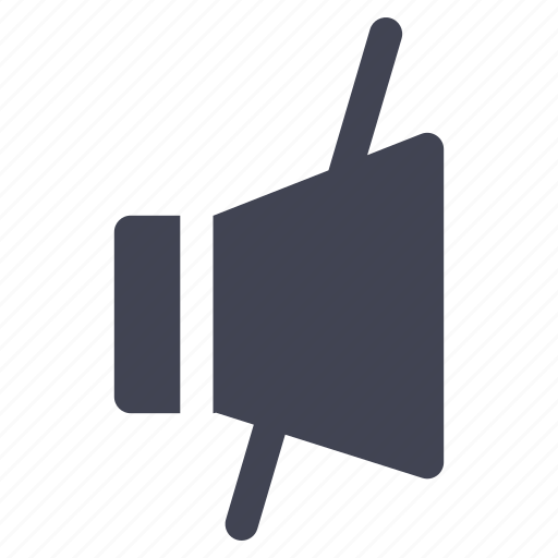 audio, media, multimedia, mute, no, sound, volume icon