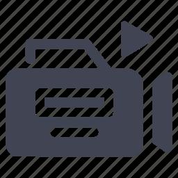 media, movie, multimedia, play, record, recording, video icon