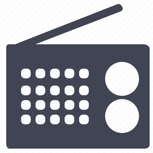 audio, media, multimedia, music, radio, sound icon