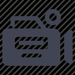 media, movie, multimedia, record, recording, video icon