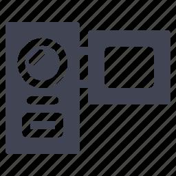 camera, media, multimedia, recorder, video icon