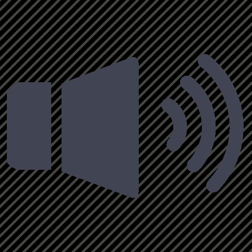 audio, high, loud, media, multimedia, sound, volume icon