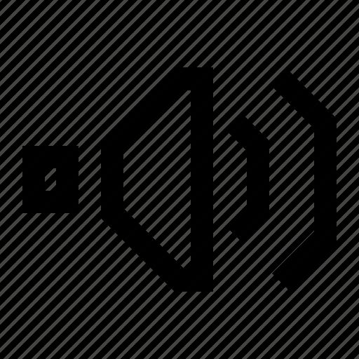 control, music, player, sound, volume icon