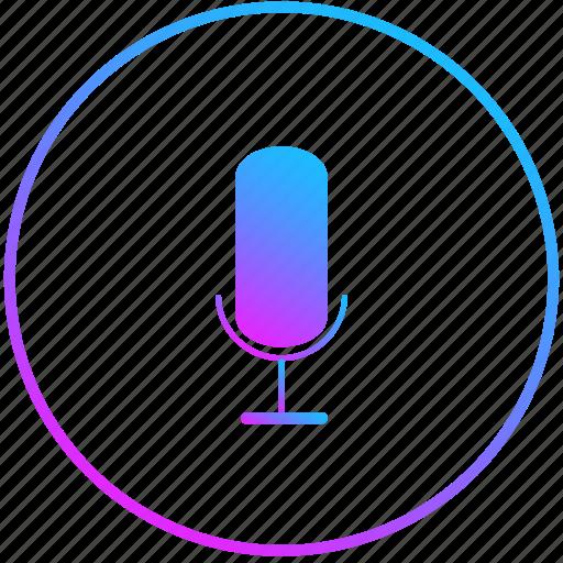 listen, mic, record, voice icon