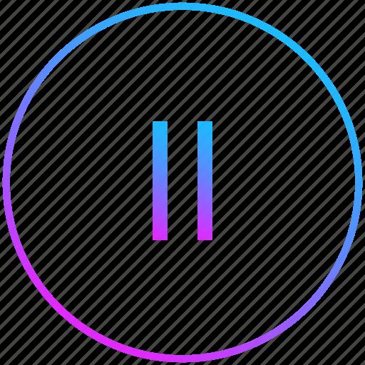 audio, music, pause, player icon