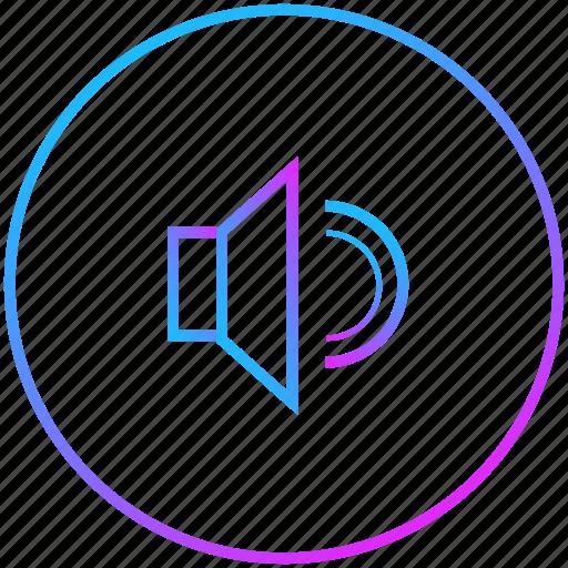 loud, sound, speaker, volume icon