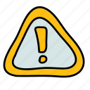 alert, attention, multimedia, notification, sign icon