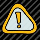 alert, attention, multimedia, notification, sign