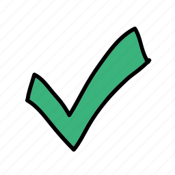 approved, checkmark, good, multimedia, yes icon