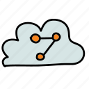 cloud, connect, connection, multimedia, online, share icon