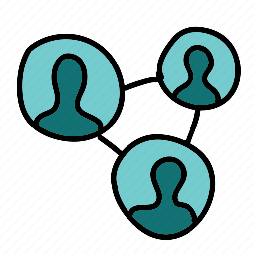 connect, multimedia, network, people, person, share icon
