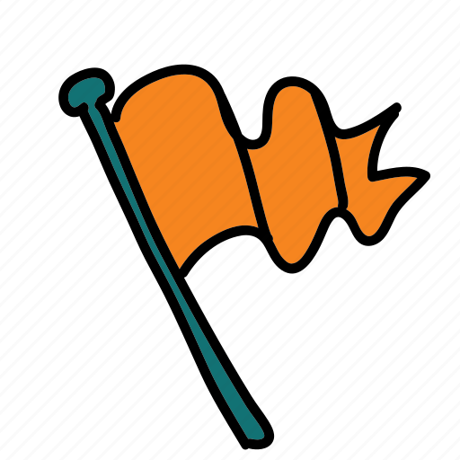 flag, guardar, multimedia, save, share, tag icon