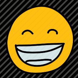 emoticon, grinning, multimedia, smiley icon