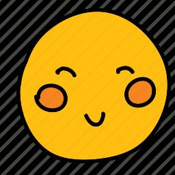 emoticon, happy, multimedia, smiley icon