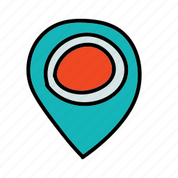 location, map, multimedia, navigation icon