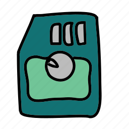 card, content, multimedia, save, sd, share, storage icon